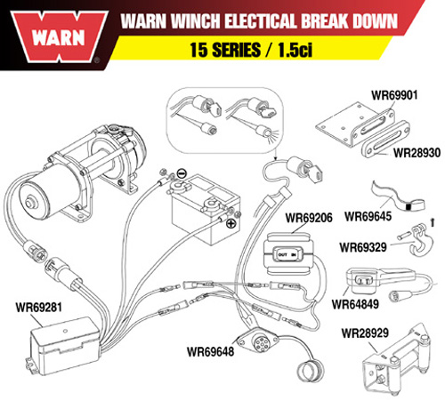 warn winch remote control socket harness| warn winch 2 5ci wiring diagram warn 2 5ci wiring diagram #2