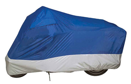Dowco Guardian Ultralite Motorcycle Cover L - Blue/Silver 26034-01