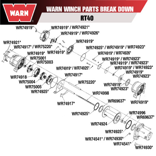 warn xt40 wiring diagram warn 2 5ci wiring diagram wiring